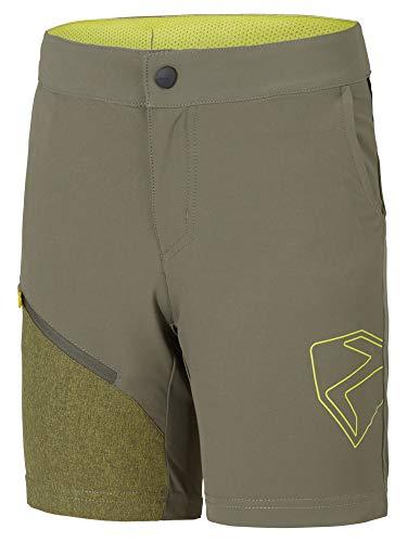Ziener - Radsport-Trikots & -Shirts für Jungen in dusty olive, Größe 116