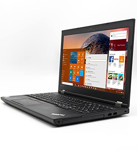 """PC Computer Portatile Notebook Aziendale LENOVO L560 CELERON HD 15.6"""" con Webcam Windows 10 PRO Ram fino 16GB DAD SmartWorking LAVORO UFFICIO LAPTOP VIAGGIO (Ricondizionato) (16GB RAM SSD 480GB)"""