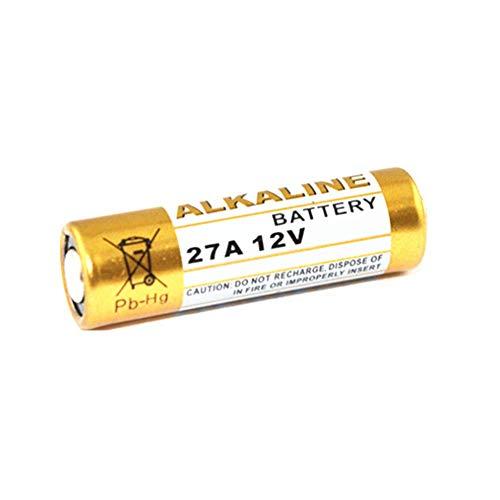 5Pcs 27A 12V Batería Alcalina Seca 27AE 27MN A27 para Timbre De Puerta, Alarma De Coche, Walkman, Control Remoto De Coche Etc