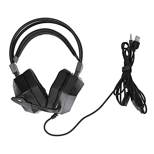 YJZO PC Game Headsets-G15 Gaming Headset RGB Colorful Gaming Computer Eating Chicken Wired Gaming Headphones