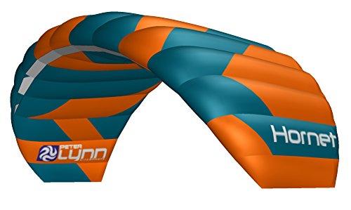 Lenkmatte Peter Lynn Hornet 5.0 mit Controlbar Allround-Lenkdrachen 4-Line Powerkite für Kitebuggy