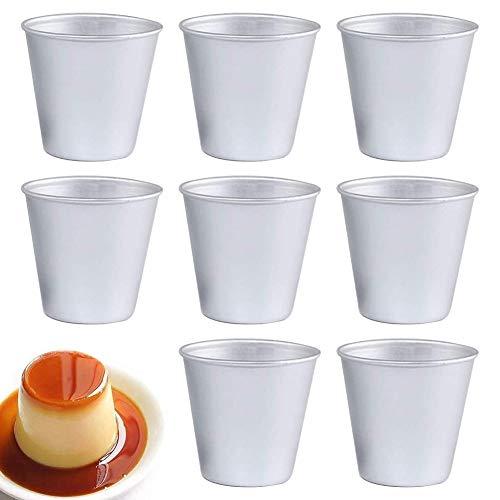 Aluminiumlegierung Kuchenform-Pudding-Form-Gelee-Form-Backform-Ein Satz von Acht-Ofen-Form-Ei-Tortenform