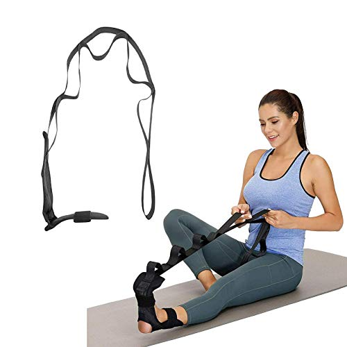 HZWZ Yoga Rehabilitation Stretching Strap, Training Stroke Rehabilitation Strap, Foot Ankle Joint Correction for Ballet, Yoga Ligament Stretching Belt Foot Ankle Joint for Plantar Fasciitis