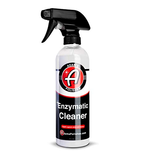 Adam's Enzymatic Cleaner 16oz - Eliminate Stains & Odors From Extreme Bio-Based Messes - Water-Based, Non-Toxic All Purpose Interior Cleaner - Safe On All Surfaces In Your Home or Vehicle