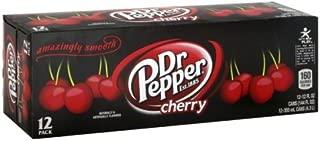 Dr Pepper Soda 12 X 12 Fl Oz (Pack of 4) (Cherry)