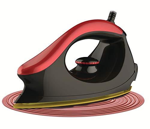Bajaj Majesty One 1000-Watt Dry Iron (Red/Black)