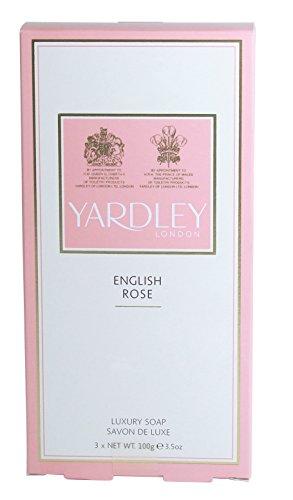 3 x Yardley Étroitement Rose Soaps,
