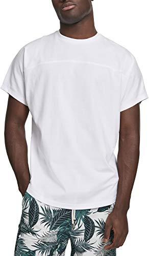 Urban Classics Herren Batwing Tee T-Shirt, Weiß (White 00220), Large (Herstellergröße: L)