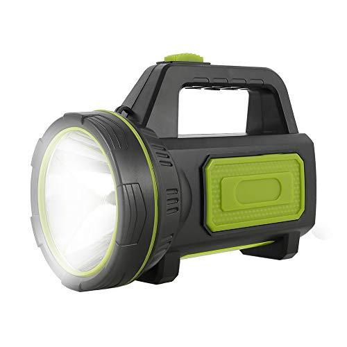 Torcia led Ricaricabile USB Potente da 135000 Lumen 6000mah Impermeabile per Escursionismo di Emergenza Caccia in Campeggio (senza luce laterale)