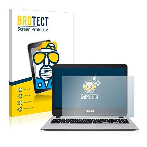 BROTECT Entspiegelungs-Schutzfolie kompatibel mit Asus VivoBook F507MA-BR117T Bildschirmschutz-Folie Matt, Anti-Reflex, Anti-Fingerprint