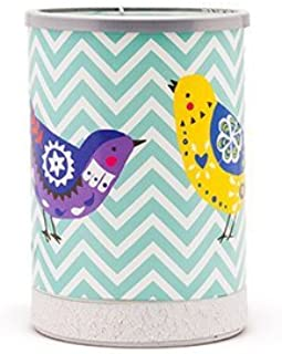 Chevrons and Songbirds Full Size Scentsy Lamp Shade Warmer