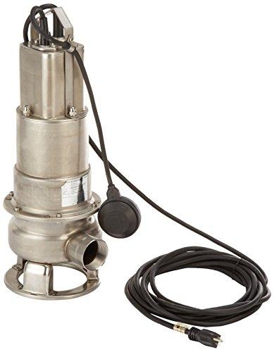 Honda WSP50 Submersible Trash Pump, Side Discharge, 1/2hp 115V, 2