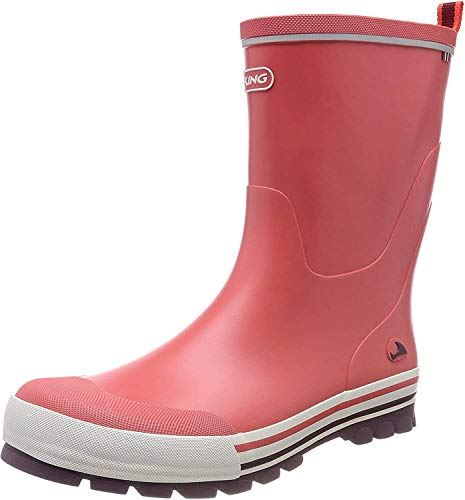 Viking Jolly, Unisex-Kinder Langschaft Gummistiefel, Orange (Coral/Multi 5150), 29 EU