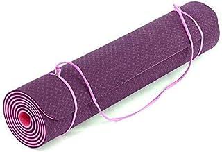 Fitem Eco Natura - Esterilla de gimnasia y yoga de TPE, reversible, antideslizante y respetuosa con el medio ambiente (176 x 61 x 0,6 cm) ideal para gimnasia, fitness, yoga, pilates y musculación