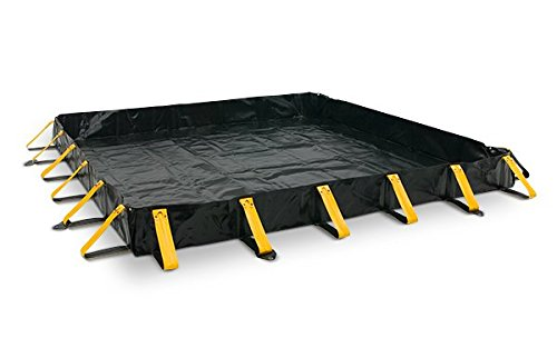 Aire Industrial 909-030404Y Go-Go Berm Portable Containment Yellow 36 x 48 x 4