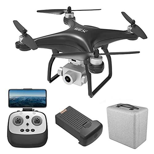rzoizwko Drone, Drone con Motor sin escobillas, GPS Drone con cámara 4K HD, 5G WiFi FPV, Gimbal de 3 Ejes, Quadcopter de Tiempo de Vuelo de 30 Minutos, 90 Grados;Cámara ESC Anti-vibración, Distancia