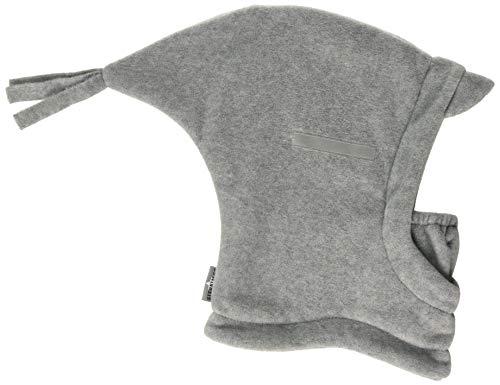 Sterntaler Sterntaler Baby-Jungen Schalmütze Schal, Grau (Eisengrau 577), 47