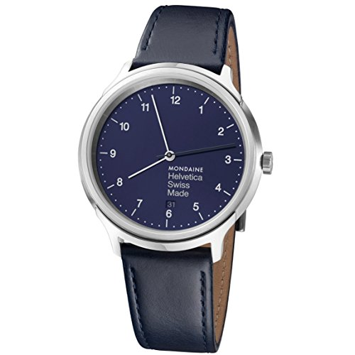 Mondaine Reloj analógico para Unisex Adulto de Cuarzo MH1.R2240.LD