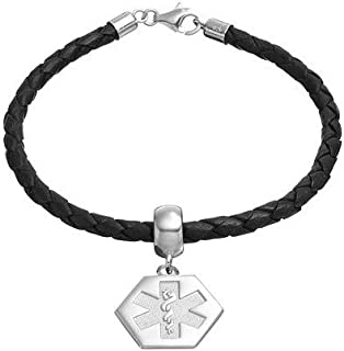 Jewelry Bracelets Medical Bracelets SS MEDICAL ALERT EMBLEM 5/8