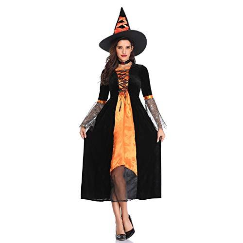 Adulto Halloween Horror Sparkle Spider Witch Costume Accessorio Kit