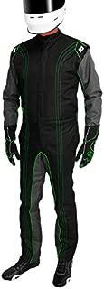 K1 Race Gear CIK/FIA Level 2 Approved Kart Racing Suit (Green, XXX-Large)