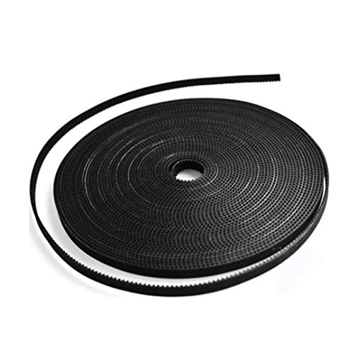 1.7 Meters Pu Belt - 1.7M/lot 3D Printer Part Accessory GT2-6mm PU with Steel Core GT2 Open Timing Belt Wide 6mm for RepRap Mendel Rostock - Black