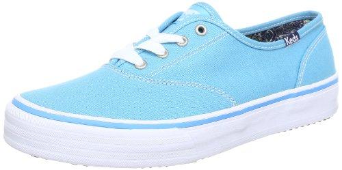 Keds Double Dutch - Zapatillas de Lona Mujer, Color Azul, Talla 36
