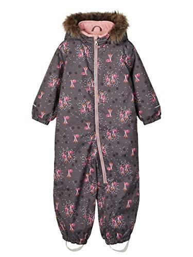 NAME IT Mädchen NMFSNOW08 Suit Bambi FO Schneeanzug, Plum Kitten, 80
