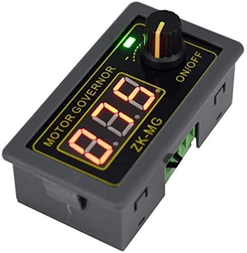DC 5V 12V 24V 150W Controlador de velocidad del motor PWM Regulador de velocidad ajustable con interruptor giratorio Variable PWM Generador de señal PWM Módulo del controlador del generadorBeauti