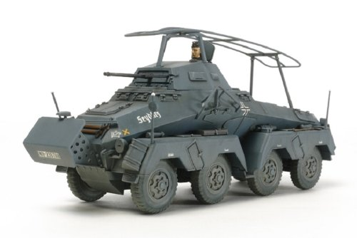 Tamiya Models German 8-Wheeled Sd.Kfz 232 Model Kit
