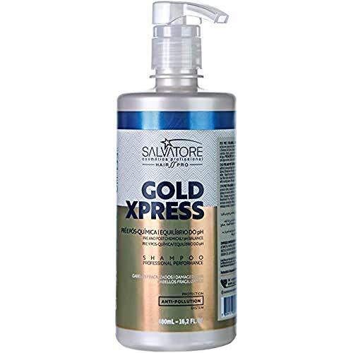 SALVATORE Gold Xpress - Champú 480 ml