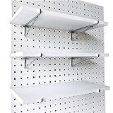 World Axiom Pegboard Shelf Set -3 Extra Heavy Duty...
