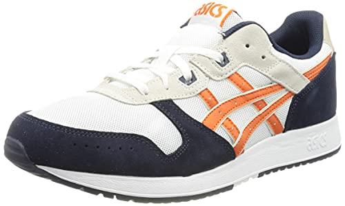 ASICS Lyte Classic, Zapatillas para Correr Hombre, White Marigold Orange, 47 EU