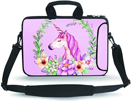 RUYIDAY 14 15 15 4 15 6 inch Laptop Shoulder Bag Messenger Bag Case Notebook Handle Sleeve Neoprene product image