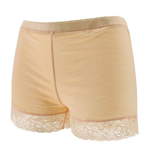 Eleery Damen Unterwäsche Po Push Up Unterhose Slip Panties Hoch Taille Spitze Padded Höschen Seamless Bodyshaper Shapewear
