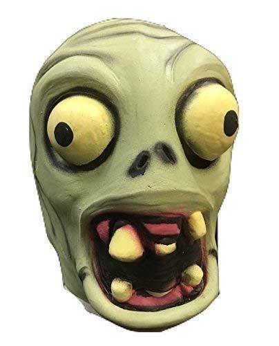 PIANTE vs contro Zombie Maschera - latex stile - per tutta la testa - COSTUME TRAVESTIMENTO - per bambini & adulti
