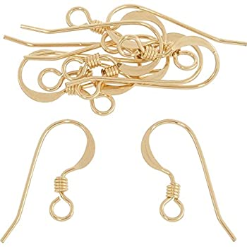 14K Gold Filled French Wire Earring Hooks  10