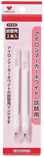KAWAGUCHI アイロンマーカー 詰替用 ホワイト 19-532