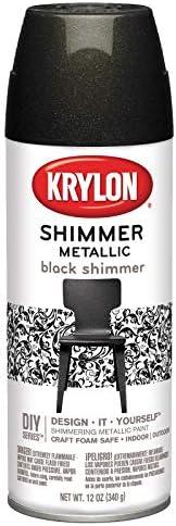 Krylon Shimmer Metallic Spray Paint, 11.5-Ounce, Blue