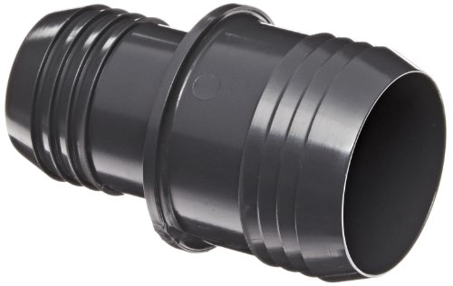Spears 1429 Series PVC Tube Fitting, Coupling, Schedule 40, Gray, 3/4
