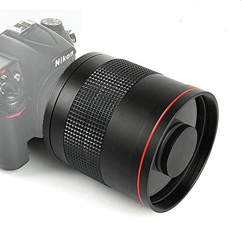 JINTU 900mm F8.0 Teleobjetivo Manual Lente súper Ligera...