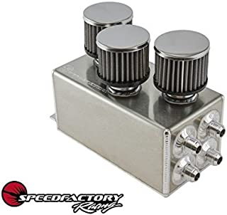 SpeedFactory Racing 3 Filter Oil Catch Can SF-02-031