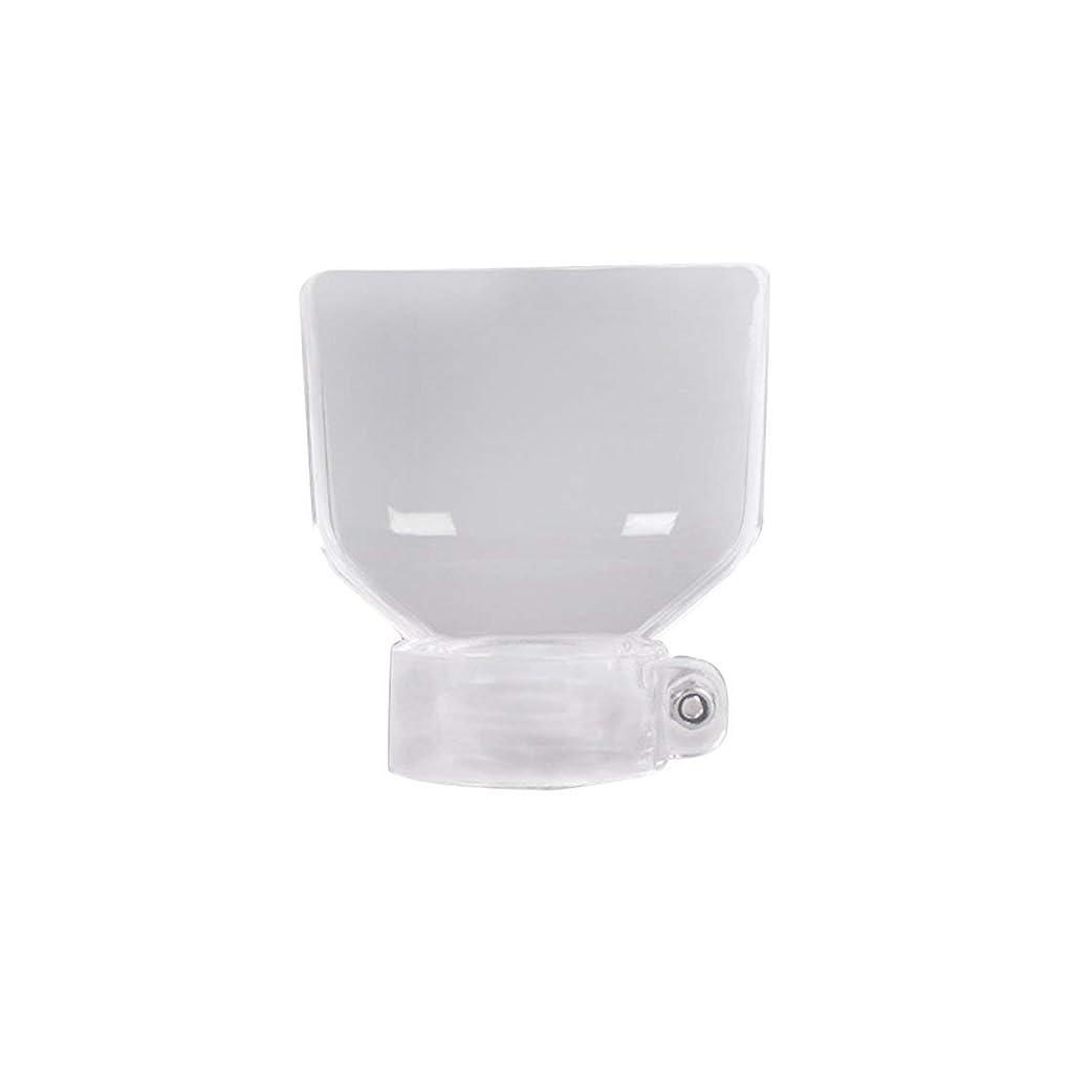 ペインギリック評議会地上の電動研削安全保護カバーミニドリル付属品400W電動ジョードリルチャック(透明色) (Rustle666)
