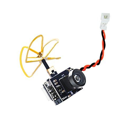 AKK A1 Mini 5.8Ghz 25mW VTX Raceband 600TVL 1/4 Cmos FPV AIO Camera with Clover Antenna for FPV Racing Drone