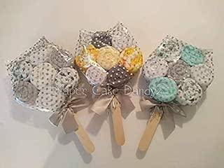 Washcloth Lollipops Baby Gender Neutral Baby Shower