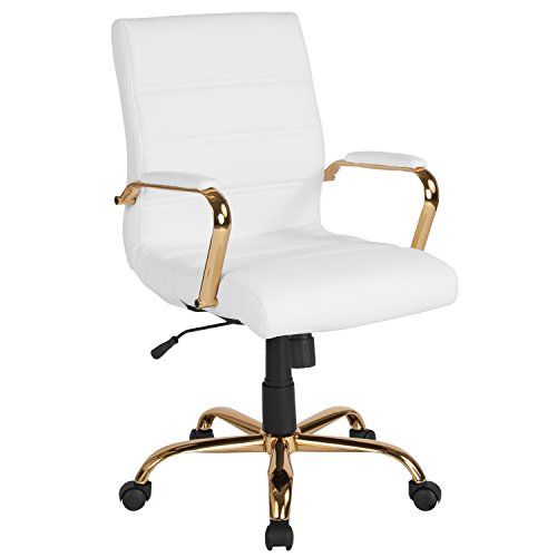 LeatherSoft Executive Swivel Office Chair
