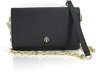 Tory Burch Women's Crossbody New Emerson Cardamom Leather Chain Bag - Black
