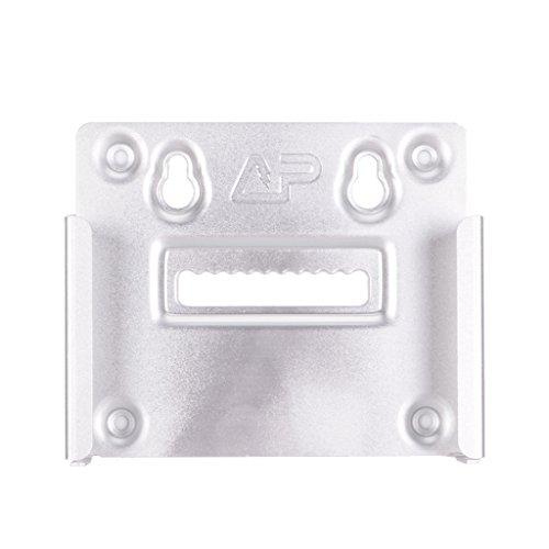 prasku Soporte de Aluminio Gancho para Pegar Y Soporte para Atornillar Soporte para TV