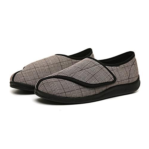 AMXSML Zapatos DiabéTicos Hombre Verano Respirable Zapatillas OrtopéDica Extra...