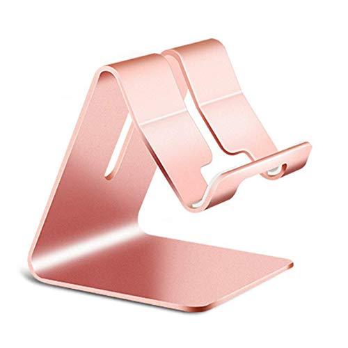 Soporte de teléfono giratorio de aleación de aluminio para Iphone X para soporte de tableta Samsung Soporte de montaje Soporte de mesa ajustable